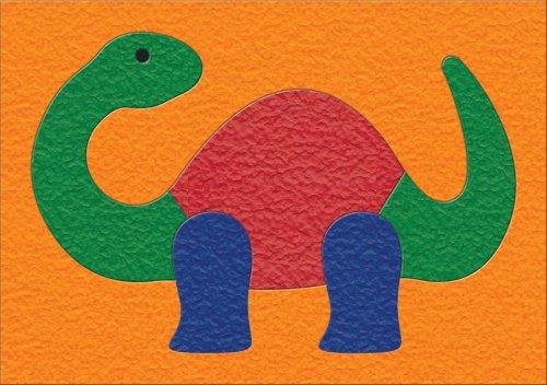 Lauri Crepe Rubber Puzzles - Dinosaur