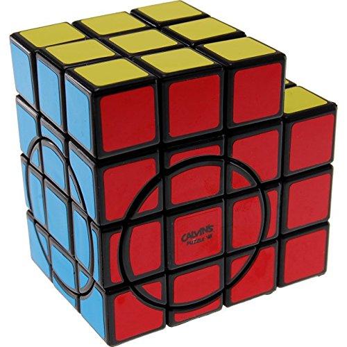Calvins Puzzles 3x3x5 Super L-Cube with Evgeniy Logo - Black Body