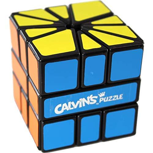Calvins Puzzles Square 3 X-Plus - Black Body BL-TR SQ2  Orange