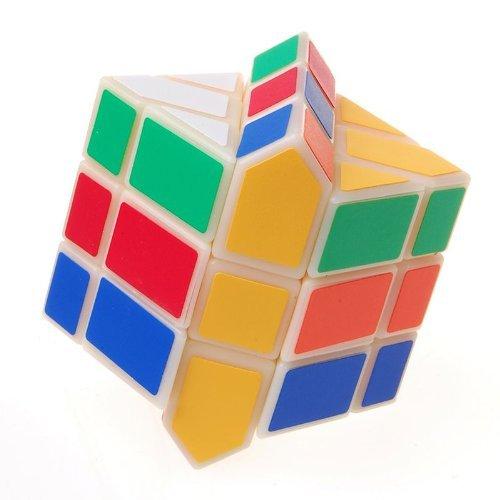 Millionaccessories Square White Body Puzzle King Puzzle Cube
