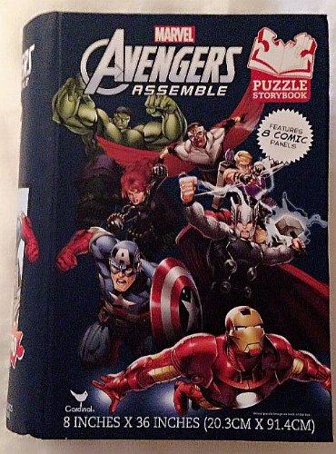 Avengers Assemble Puzzle Storybook 160 Pieces