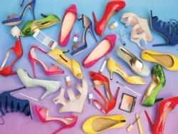 Fashion Shoes 500pc Colorluxe Puzzle