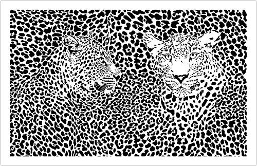 Pintoo - H1548 - Extreme Puzzle - Leopard - 1000 Piece Plastic Puzzle