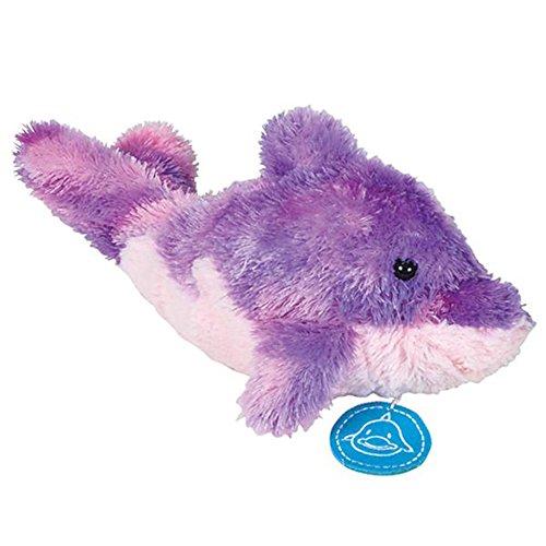 Tie Dye Theme Dolphin Plush Stuffed Animal