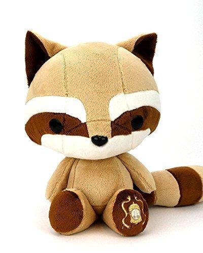 BellziàCute Brown Raccoon Stuffed Animal Plush Toy - Tanuki by Bellzi