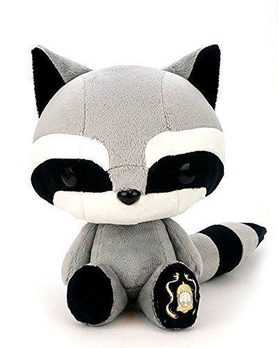 Bellzi Black Raccoon Stuffed Animal Plush Toy - Tanuki by Bellzi