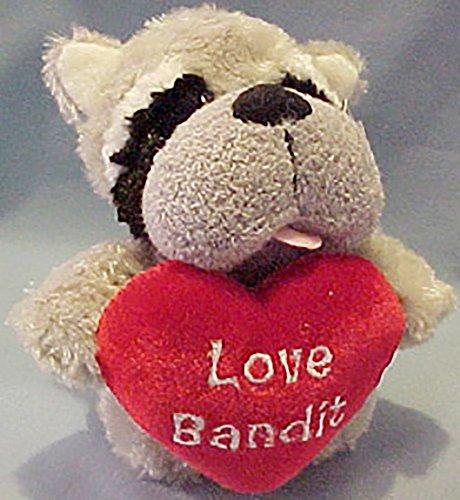 Gund Plush Chubby Puff Rags Raccoon Stuffed Animal
