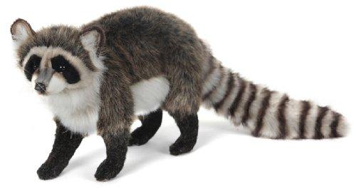 Hansa Standing Raccoon Plush Stuffed Animal - 22 Long By 14 High
