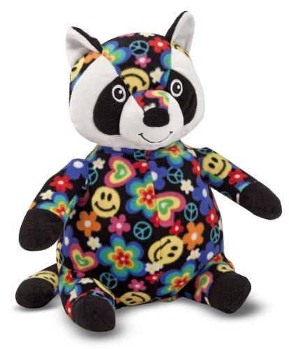 Melissa Doug Razzle Raccoon Stuffed Animal