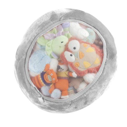 Boon Stuffed Animal Storage Bag Gray