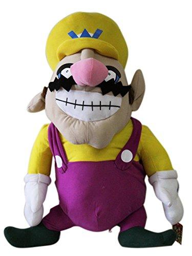 Nintendo Jumbo Plush Toy - Supersize Wario Stuffed Animal 28in