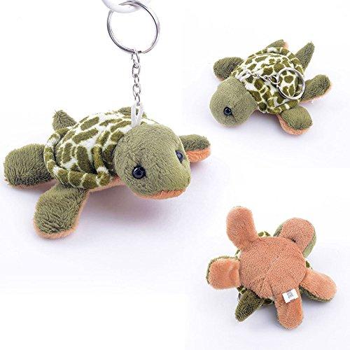 Gloveleya Green Sea Turtle Ocean Animal Stuffed Keychain Toys