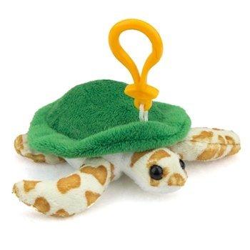 Green Sea Turtle Plush Sea Turtle Stuffed Animal Backpack Clip Toy Keychain WildLife Artists