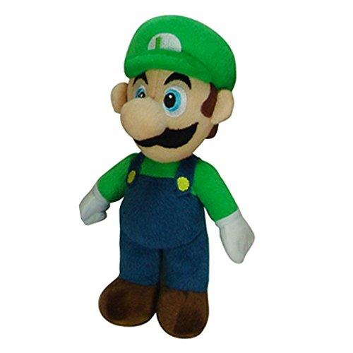 95 Inches Super Mario Luigi Plush Soft Toy Doll Green Hat
