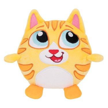 Crunchimals 6 inch Kiddy Crunch Cat crunchable Stuffed Animals Plush Snuggle Buddy Cuddly Soft Toy Dolls Gift Series 1