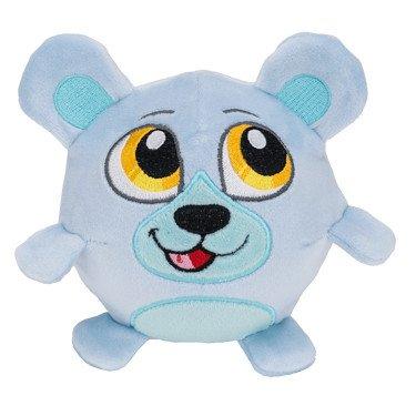 Crunchimals - Parley Crunch Bear - 6 inch Crunchable Stuffed Animals Plush Snuggle Buddy Cuddly Soft Toy Dolls Gift - Series 1