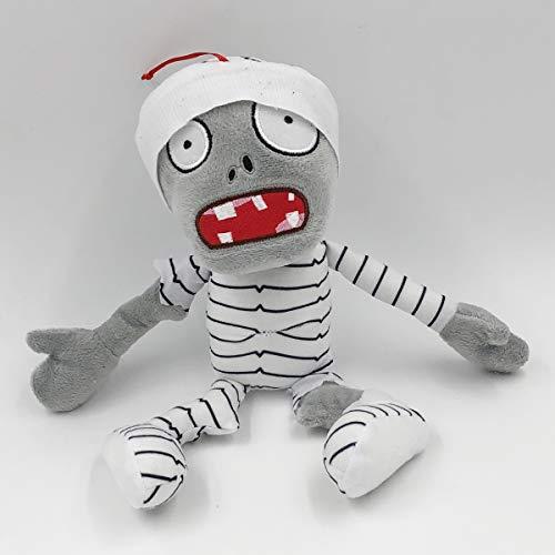 TavasHome Plants vs Zombies 2 PVZ Figures Plush Stuffed Soft Toys Doll Mummy Zombie