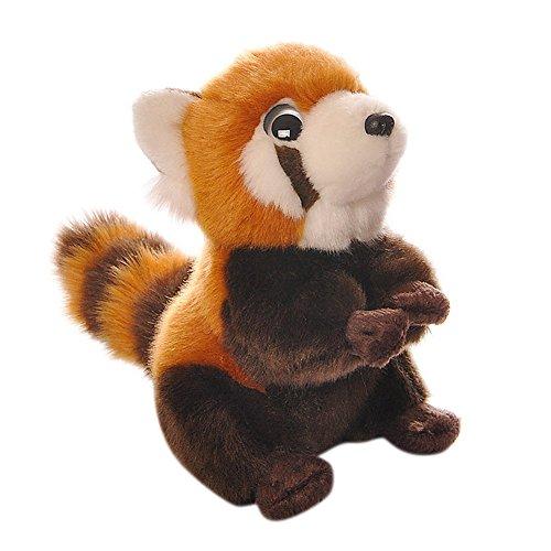 BESTLEE Realistic Plush Red Panda Stuffed Animal Soft Toy 7