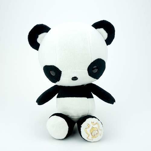 Bellzi Cute Black Panda Stuffed Animal Plush Toy - Pandi