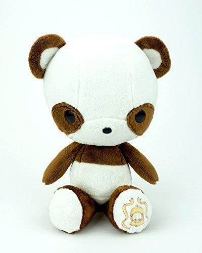 Bellzi Cute Dark Brown Panda Stuffed Animal Plush Toy - Pandi