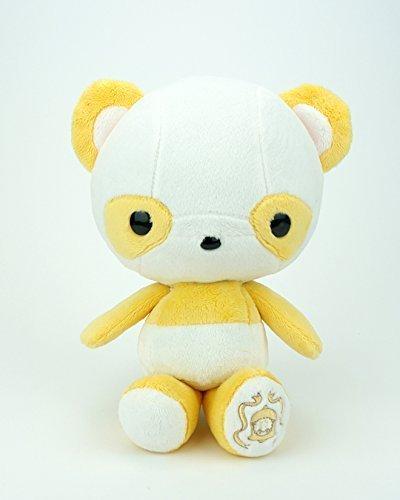 Bellzi Cute Yellow Panda Stuffed Animal Plush Toy - Pandi