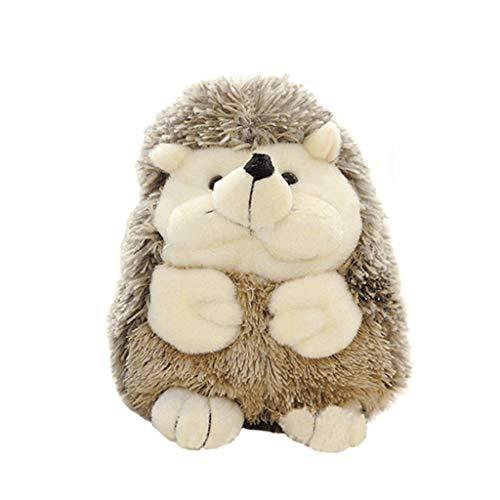 DaoAG Hedgehog Stuffed Animals Plush Toys Squeaky Plush Hedgehog Toy Cute Adorable Stuffed Animal Toy Soft Animal Plush Toy for Children - 59