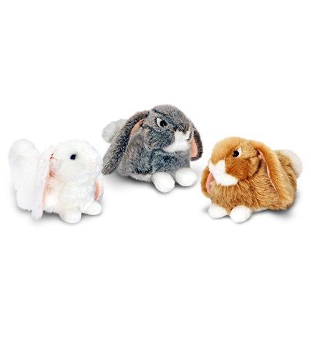 25cm Rabbit Soft Toys 3 Assorted Colours