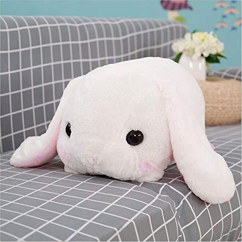 Emmane Shop 1pc 40cm Stuffed Bunny Rabbit Soft Toys Baby Kids Sleep Toys Birthday Gifts White