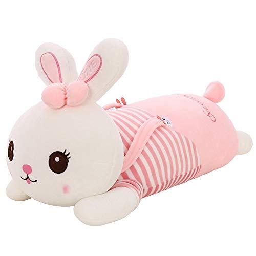 YSJ 7090CM Lovely Big Long Ears Rabbit Plush Animals Toys Stuffed Bunny Rabbit Soft Toys Baby Kids Sleep Toys Birthday Gifts  Color  B  Size  70cm