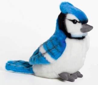 Cabin Critters Blue Jay 6 Stuffed Plush Animal Backyard Bird Collection