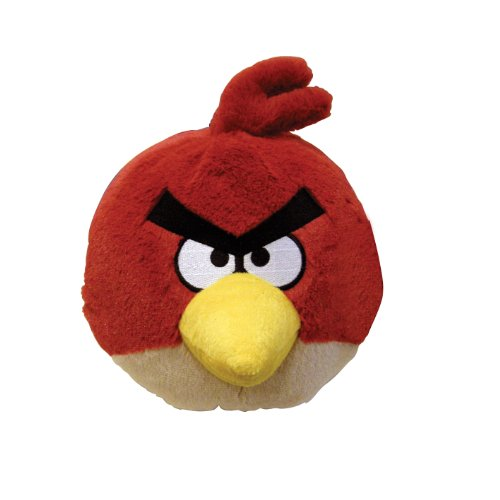 Angry Birds Plush 5-Inch Red Bird with Sound Discontinued by manufacturer