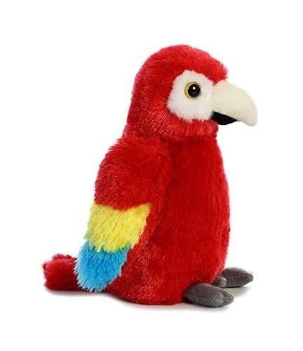 FidgetGear Aurora World Mini Flopsie Toy Scarlet Macaw Parrot Plush 8 Show One Size