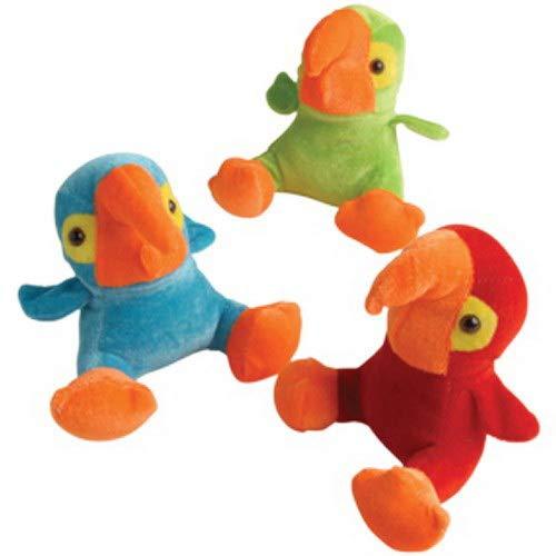 US Toy 4SGM Bright Parrots Plush