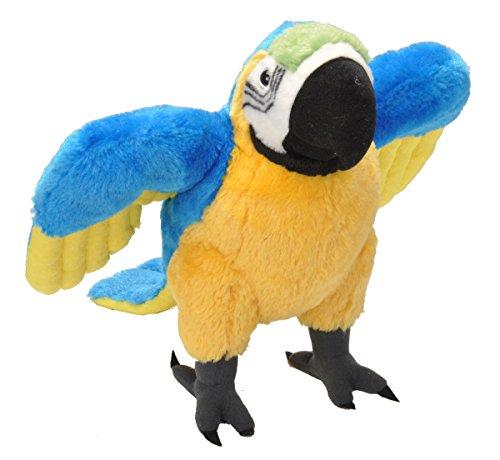 Wild Republic Macaw Parrot Plush Stuffed Animal Plush Toy Gifts Kids Cuddlekins 12 inches