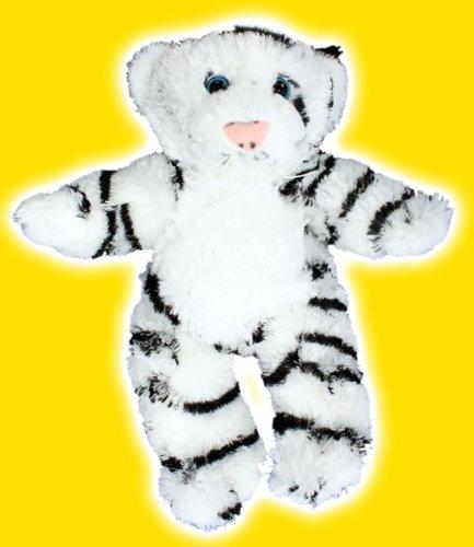 8 White Tiger Make Your Own NO SEW Stuffed Animal Kit