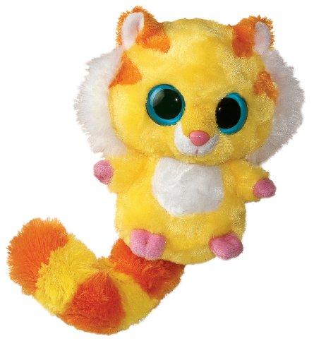 5 Yellow Yoohoo Friends Tumo Tiger Soft Toy