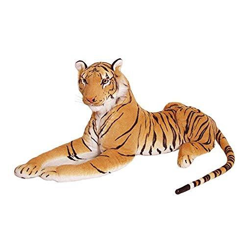 GCCLCF 30CM-80CM Plush Quality Tiger Soft Toy Stuffed Animal Cuddly Tiger Plush Toy Cuddly Toy30Cm