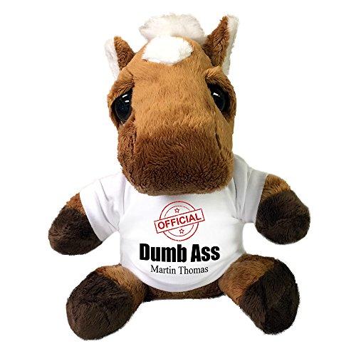 Personalized Plush Dumb Ass Donkey