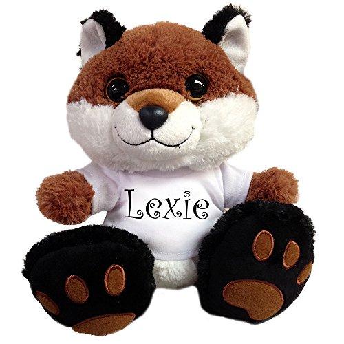 Personalized Plush Fox