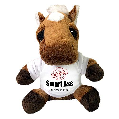 Personalized Plush Smart Ass donkey