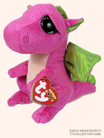 New TY Beanie Boos Cute Darla the dragon Plush Toys 6 15cm Ty Plush Animals Big Eyes Eyed Stuffed Animal Soft Toys for Kids Gifts by Ty Beanie Boos