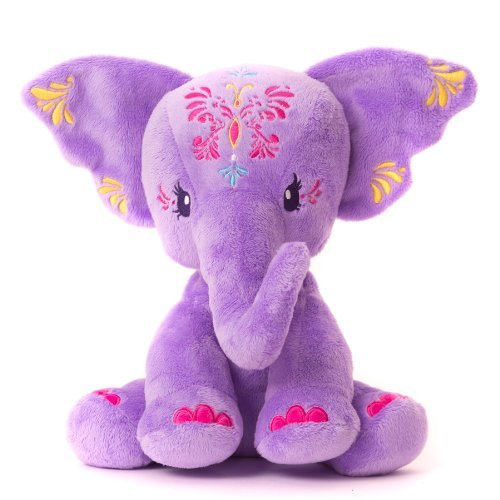 Pink Chillies 25cm Yara Cuddly Elephant Plush Toy by Pink Chillies