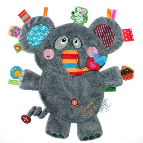 Vital Innovations Friends LL-FR1206 Label-Label Cuddly Elephant Grey by Ver BV  Vital Innovations