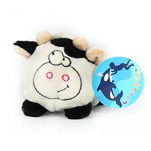 WILDREAM Beanie Balls Cow by Plush Toys