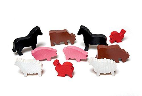 Wooden Farm Animals Item  580021