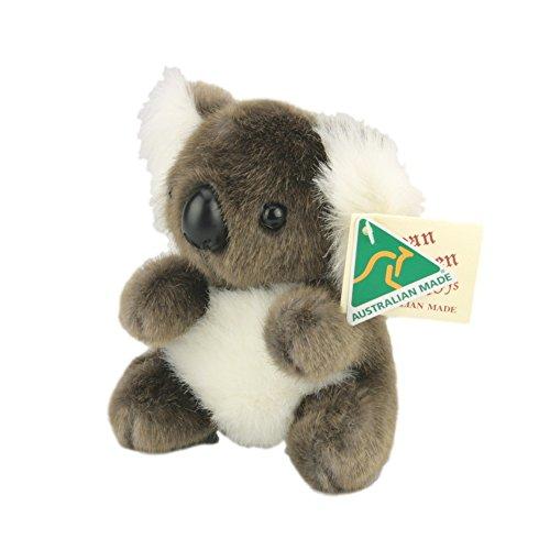 Australian Made Koala Stuffed Animal Plush Toy Small Brown