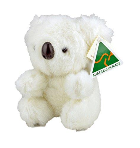 Australian Made Koala Stuffed Animal Plush Toy Small White
