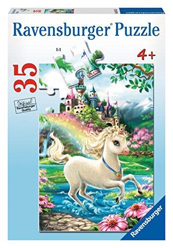 Ravensburger Unicorn Castle Puzzle 35 Piece