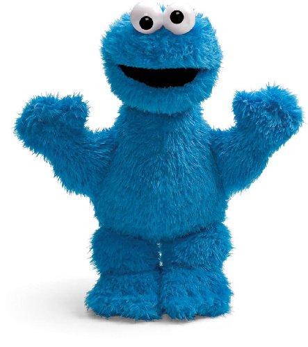 Gund Sesame Street Cookie Monster Plush 13 IN