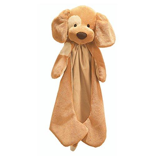 Baby GUND Spunky Huggybuddy Stuffed Animal Plush Blanket Beige 15